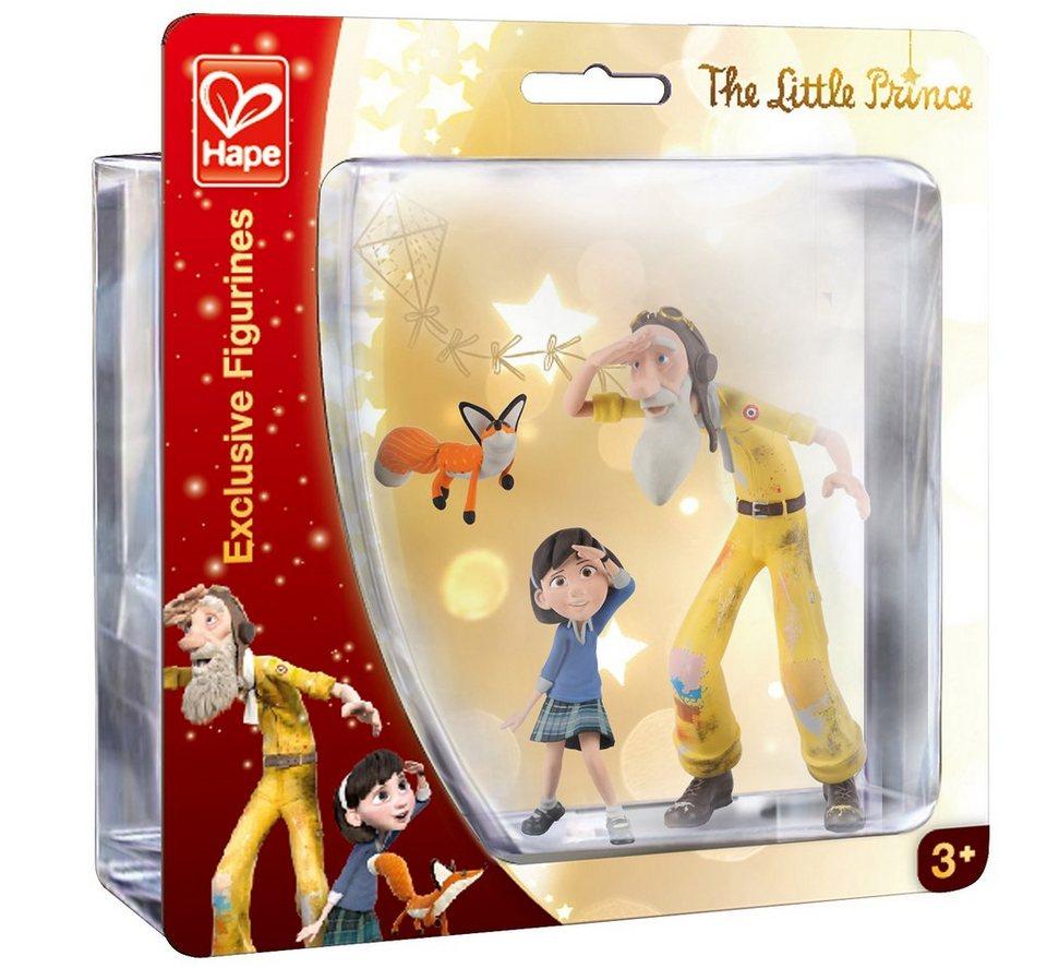 Hape Set Spielfiguren 3-tlg., »Der kleine Prinz - Kleines Mädchen, Pilot und Fuchs«