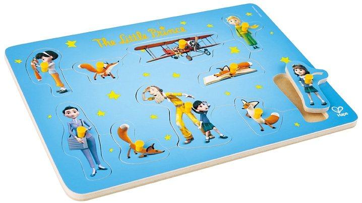 Hape Steckpuzzle aus Holz, 10 Teile, »Der kleine Prinz«