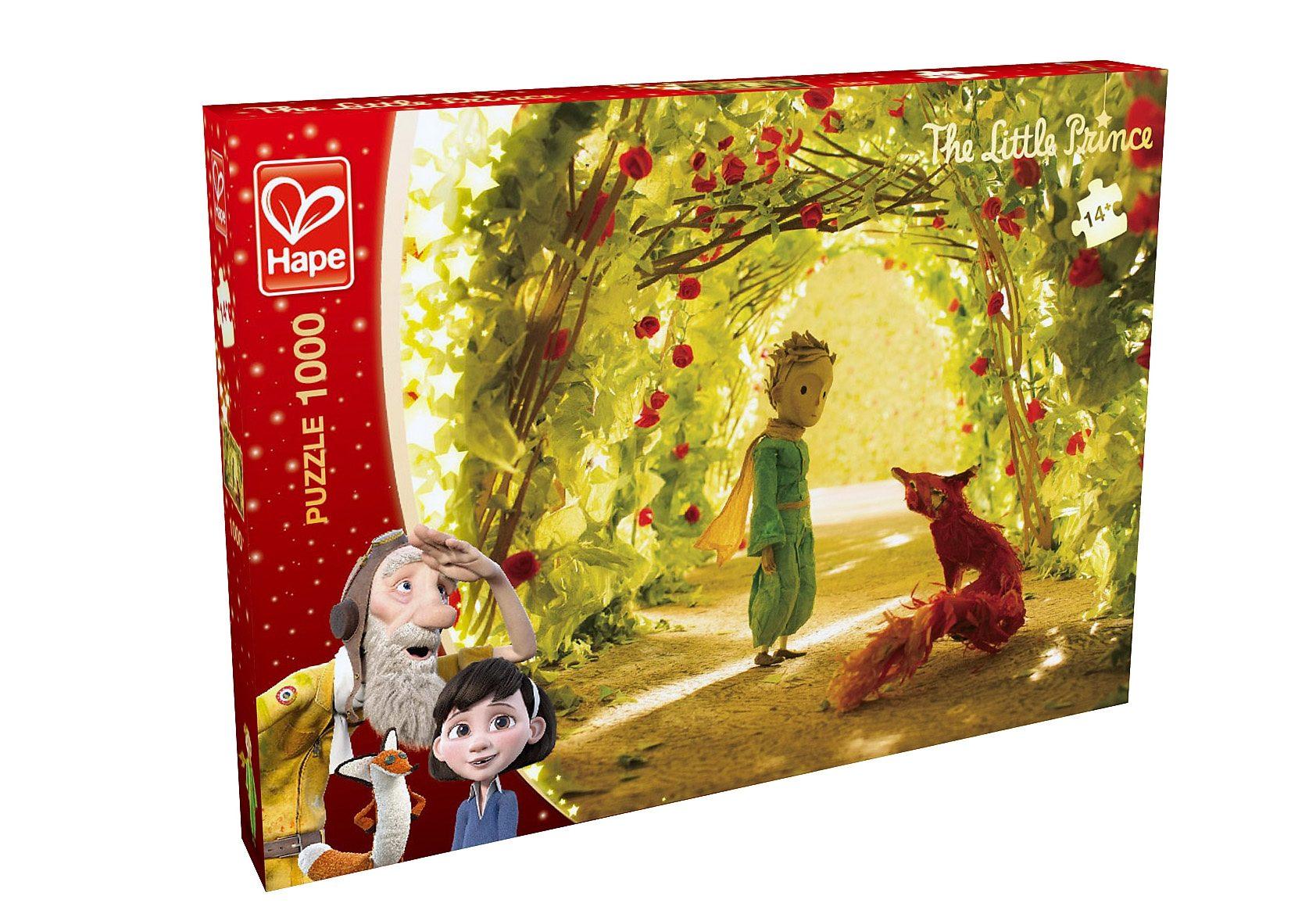 Hape Puzzle, 1000 Teile, »Der kleine Prinz - Rosengarten«