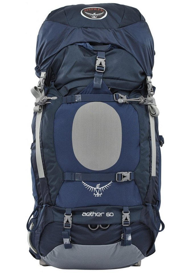 Osprey Sport- und Freizeittasche »Aether 60 Backpack Men M« in blau