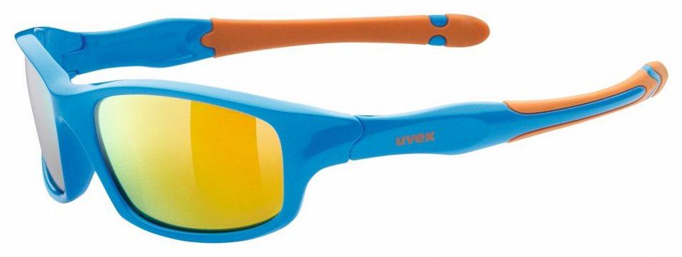 UVEX Radsportbrille »sportstyle 507 Brille« in blau