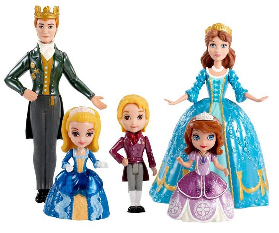 Mattel Puppenset, »Disney Sofia die Erste - Königliche Familie«