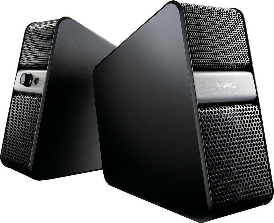 NX-B55 2.0 Lautsprecher mit Bluetooth in schwarz