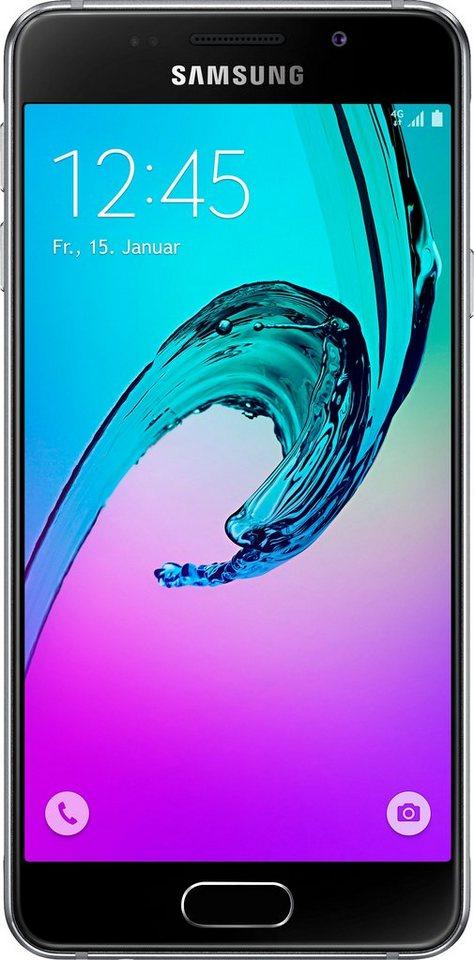 Samsung Galaxy A3 (2016) - A310F Smartphone, 12 cm (4,7 Zoll) Display, LTE (4G) in schwarz
