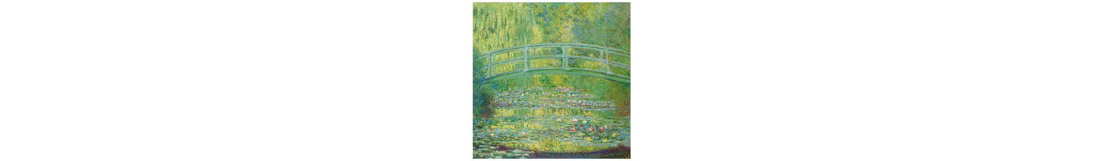 Home affaire Fototapete »Monet - Seerosenteich«, 250/250 cm