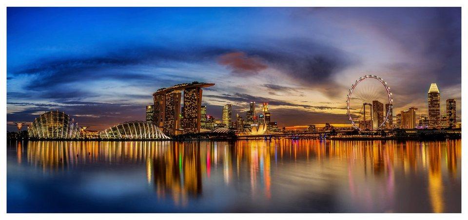 Home affaire Fototapete »Xie - Lights London«, 550/250 cm in mehrfarbig