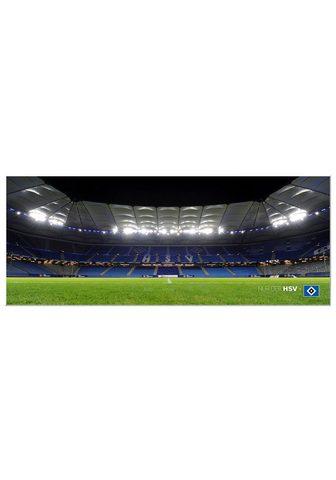 Paveikslas »HSV Arena Naktinis - Panor...