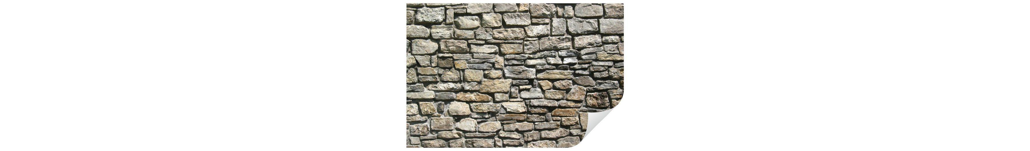 Home affaire Wandtattoo »Natursteinmauer«, 90/60 cm