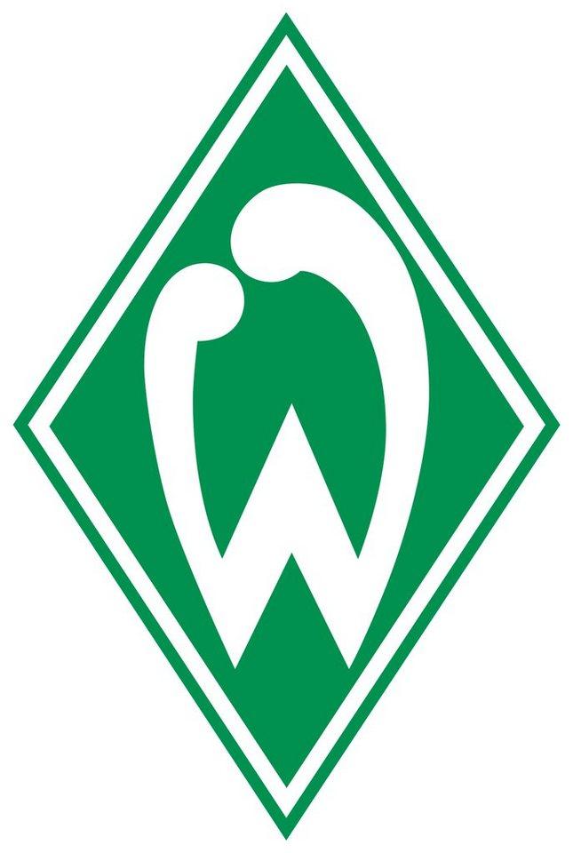 Home affaire Wandtattoo »Werder Bremen Logo«, 40/60 cm in grün