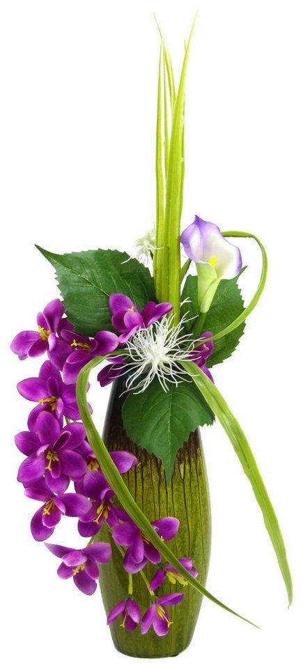 Home affaire Kunstblume »Orchidee und Calla« in lila
