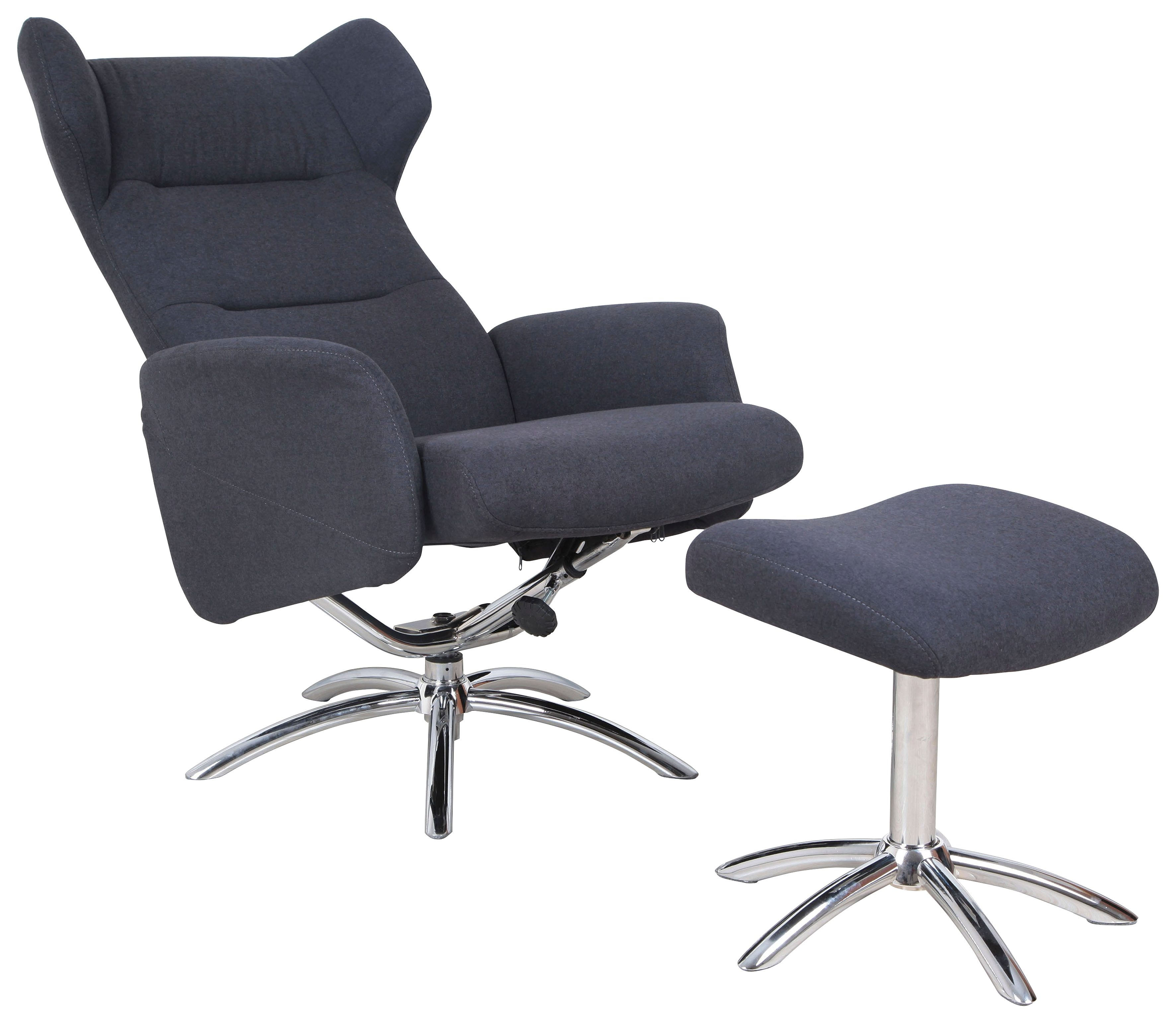 DUO Collection Ohrensessel, inklusive Hocker