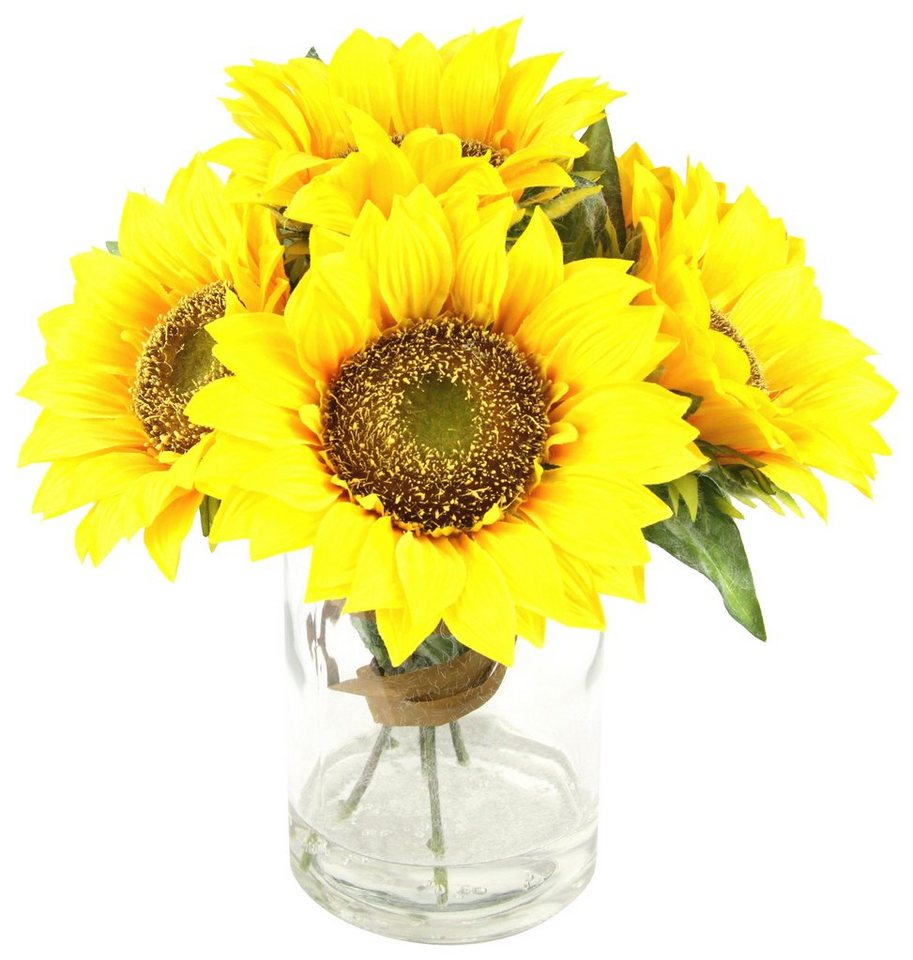 Home affaire Kunstblume »Sonnenblumen« in gelb