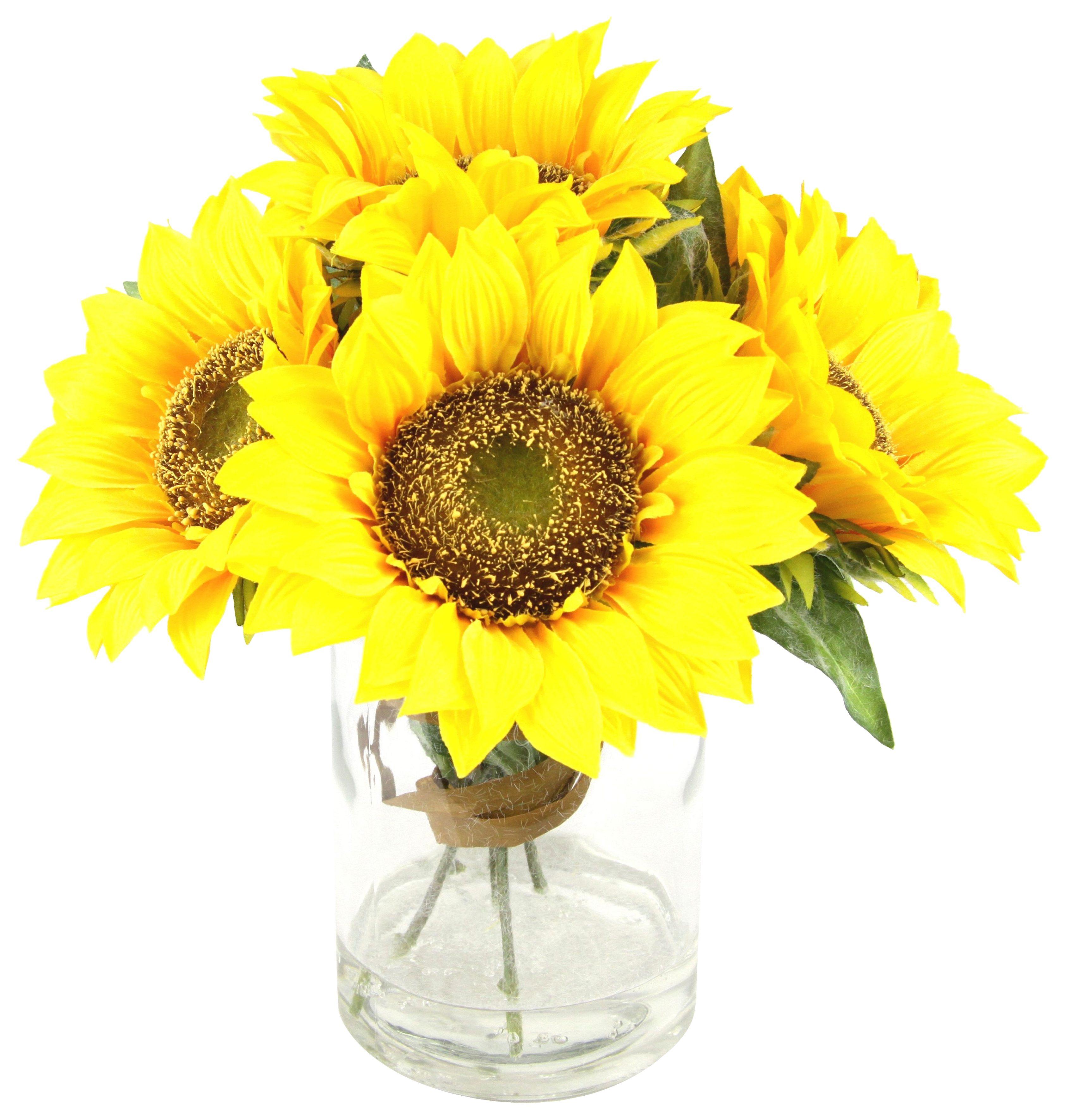 Home affaire Kunstblume »Sonnenblumen«
