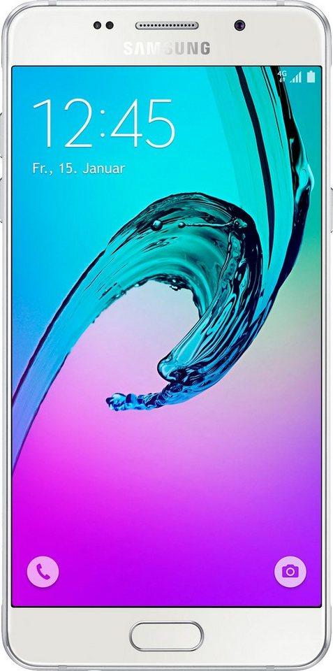 Samsung Galaxy A5 (2016) - A510F Smartphone, 13,2 cm (5,2 Zoll) Display, LTE (4G) in weiß