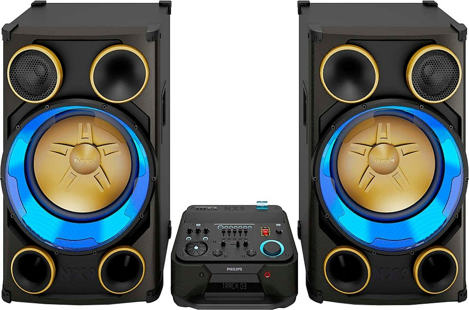philips ntrx900 12 stereoanlage bluetooth 2x usb otto. Black Bedroom Furniture Sets. Home Design Ideas