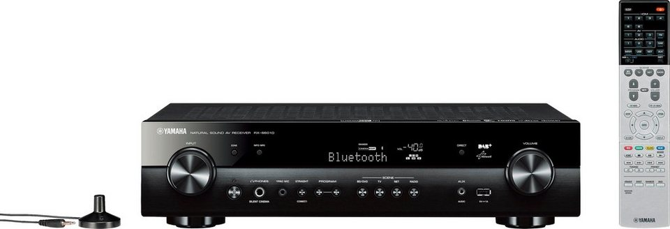 yamaha rx s601 dab 5 1 av receiver 3d spotify connect. Black Bedroom Furniture Sets. Home Design Ideas
