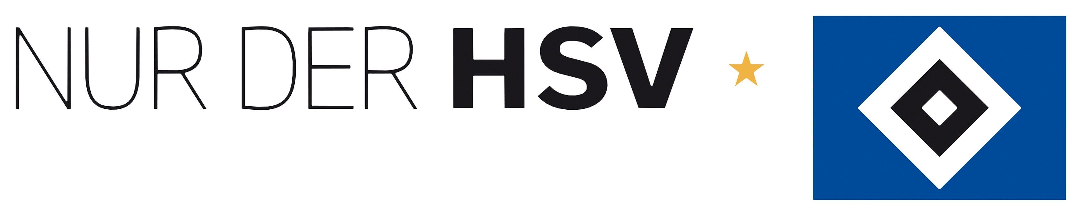 Home affaire Wandtattoo »Nur der HSV mit Logo«, 60/8 cm