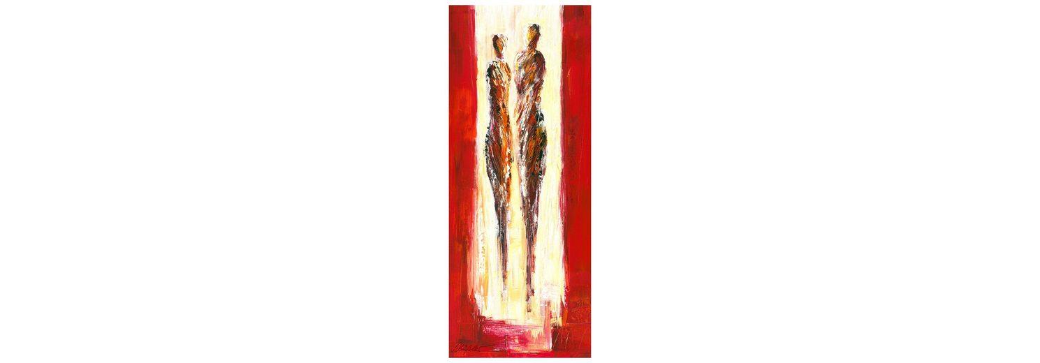 Home affaire Fototapete »Schüßler - Paar in Rot«, 100/250 cm