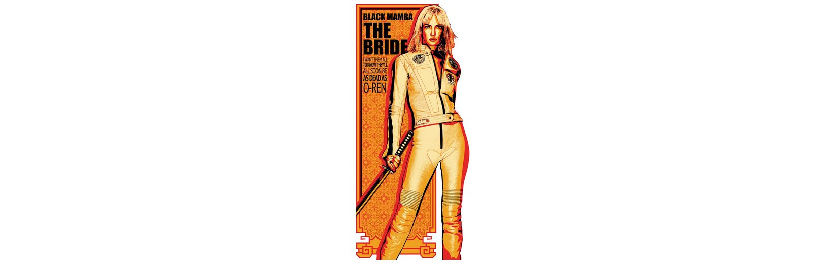 Home affaire Wandtattoo »Kill Bill - Die Braut -», 53/120 cm