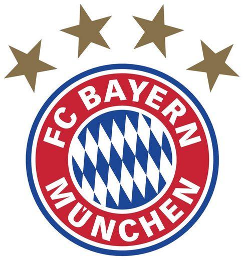 Wall-Art Wandtattoo »FC Bayern München Logo«