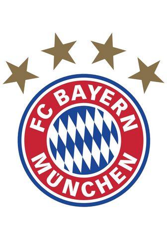 Sienos lipdukai »FC Bayern München Log...