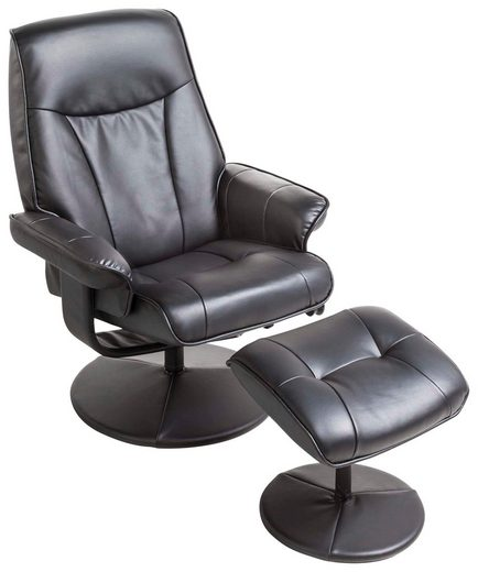 Alpha Techno Massagesessel, inklusive Hocker