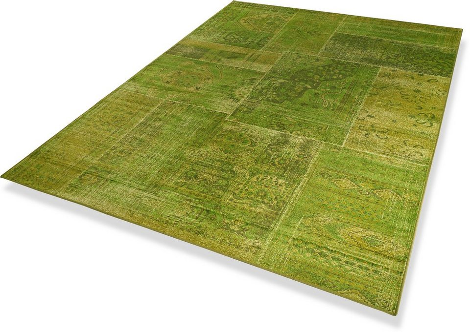 Teppich, Dekowe, »Pernilla«, getuftet in grün