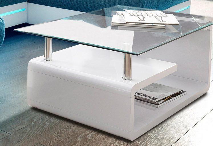 couchtisch mit glasplatte online kaufen otto. Black Bedroom Furniture Sets. Home Design Ideas