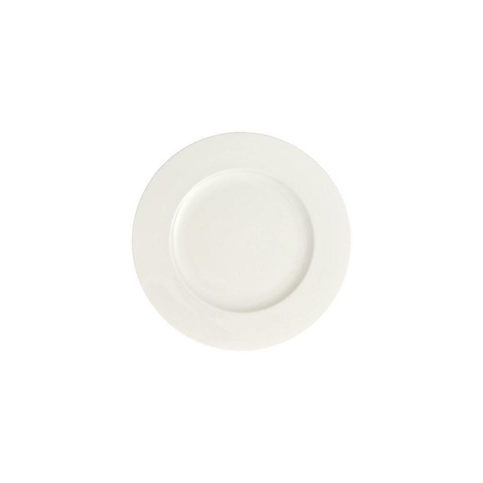 VILLEROY & BOCH Frühstücksteller groß 24cm »Royal« in Weiss
