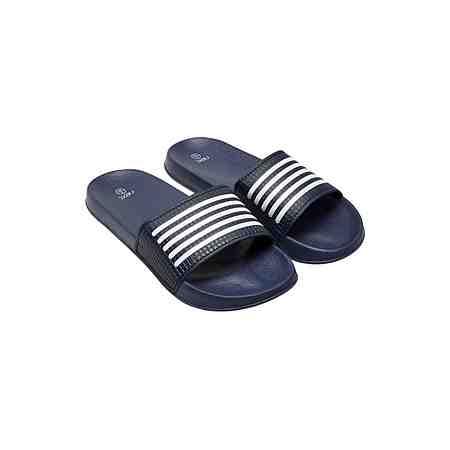 Next Pool-Sandale mit Streifendetail