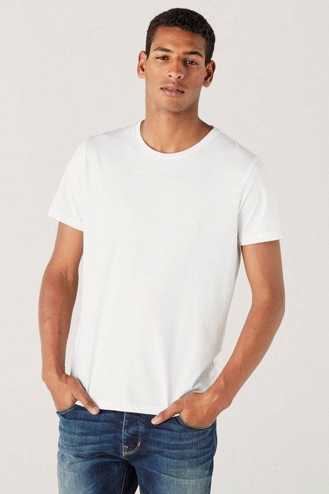 Next T-Shirt mit Rundhalsausschnitt in White