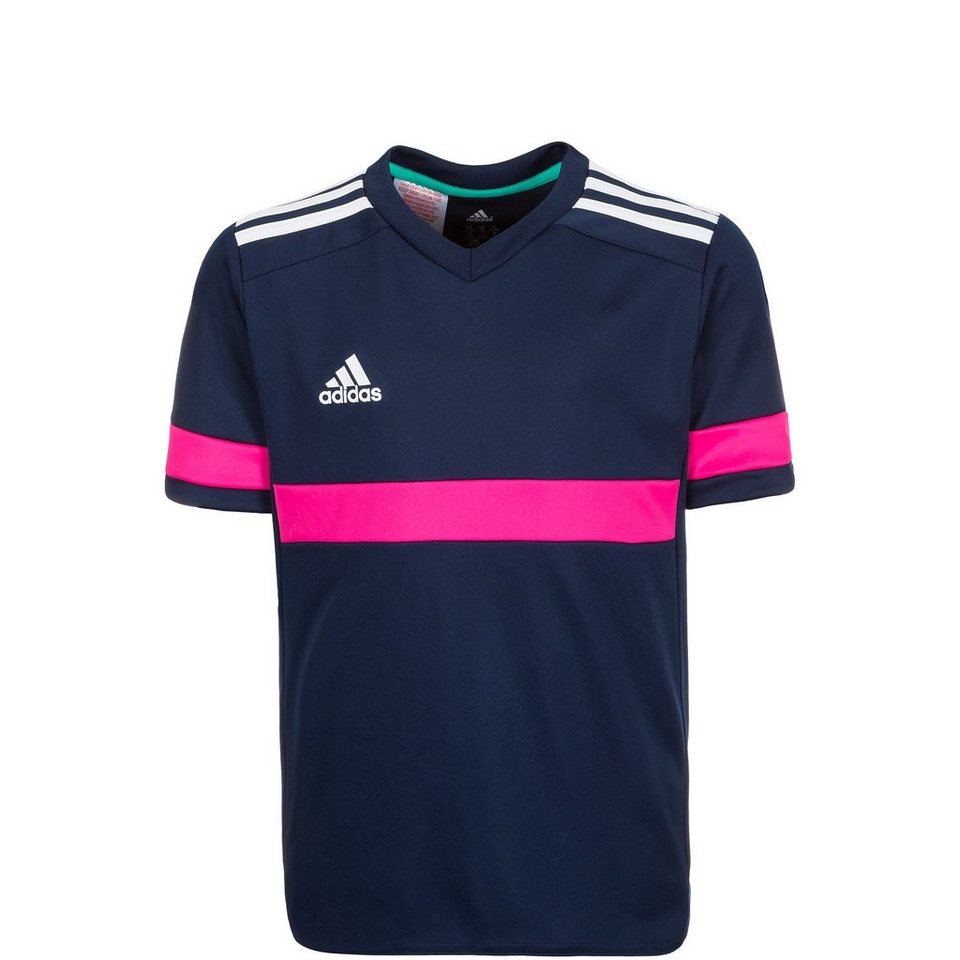 adidas Performance Konn 16 Fußballtrikot Kinder in dunkelblau / pink