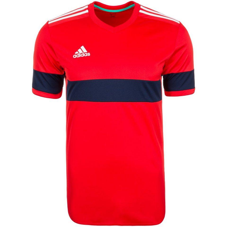 adidas Performance Konn 16 Fußballtrikot Herren in rot / dunkelblau