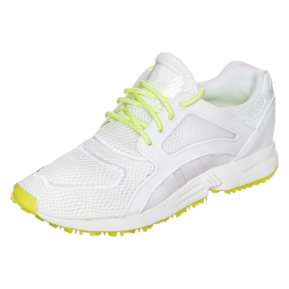 adidas Originals Racer Lite Sneaker Damen in weiß / neongelb