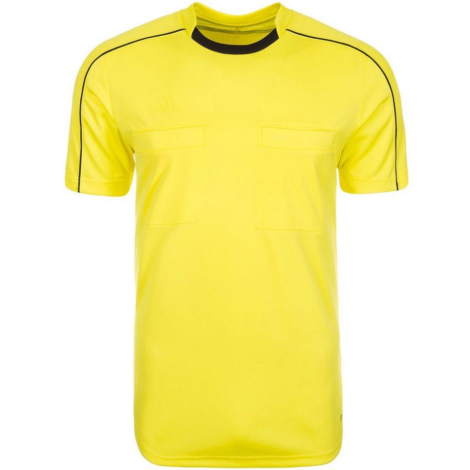 adidas Performance Referee 16 Schiedsrichtertrikot Herren in gelb / schwarz