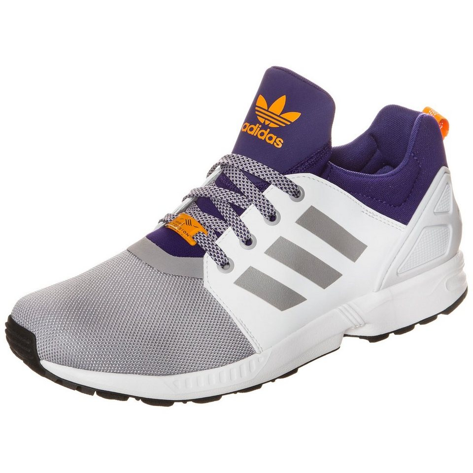 adidas Originals ZX Flux NPS UPDT Sneaker Herren in weiß / grau / lila