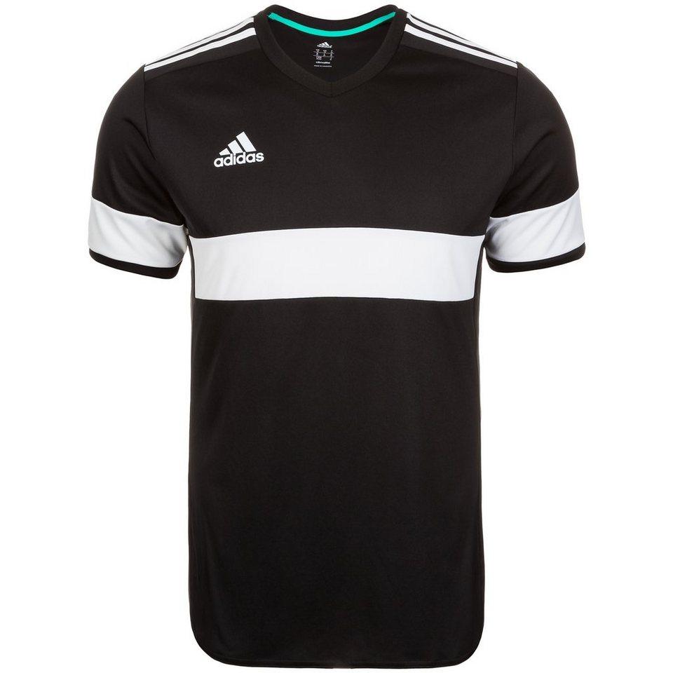 adidas Performance Konn 16 Fußballtrikot Herren in schwarz / weiß
