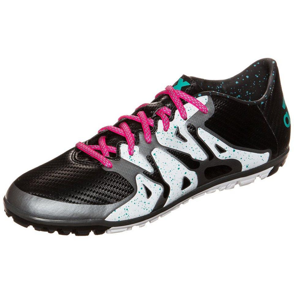 adidas Performance X 15.3 TF Fußballschuh Herren in schwarz / weiß