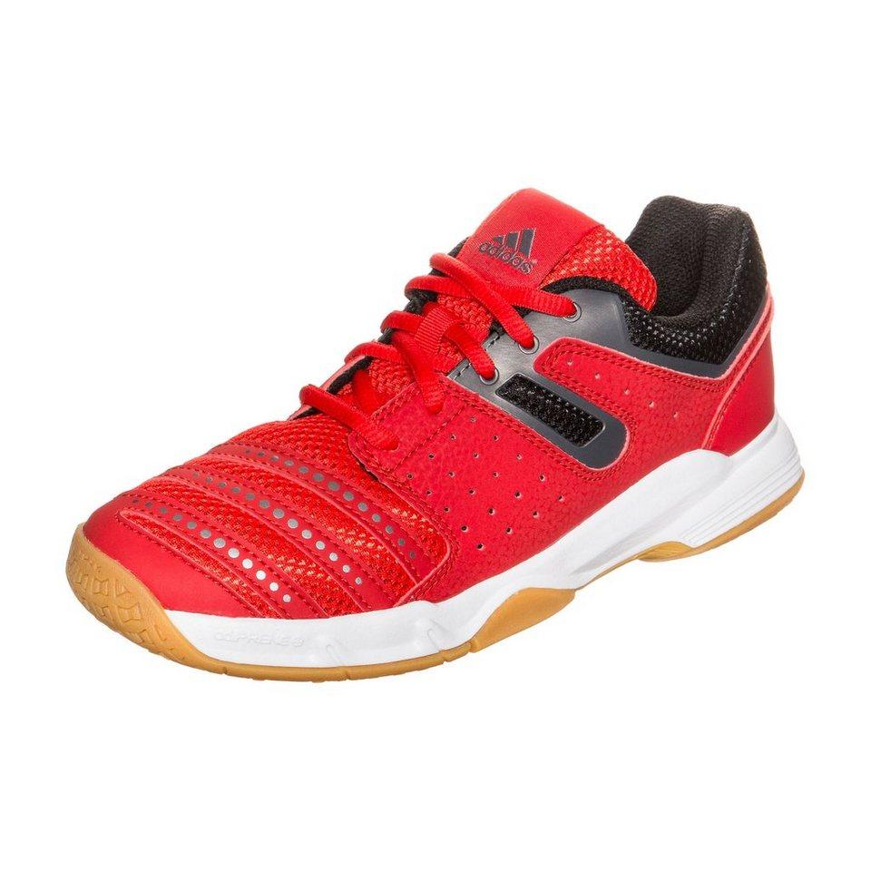adidas Performance Court Stabil Handballschuh Kinder in rot / schwarz / weiß