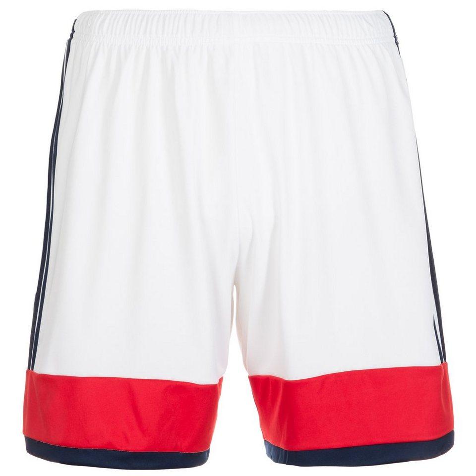 adidas Performance Konn 16 Short Herren in weiß / rot / schwarz