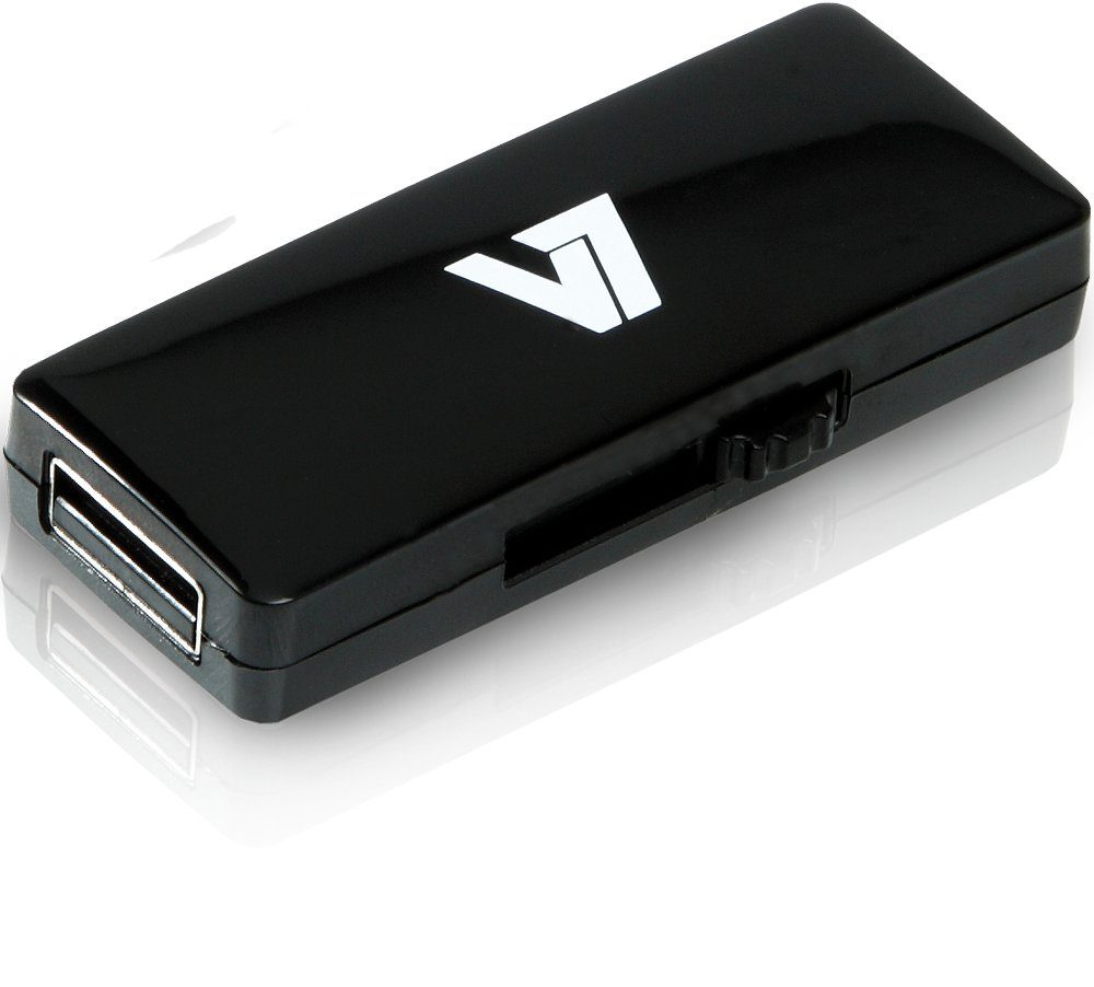 V7 USB-Stick »V7 USB STICK 8GB USB2.0 BLACK«