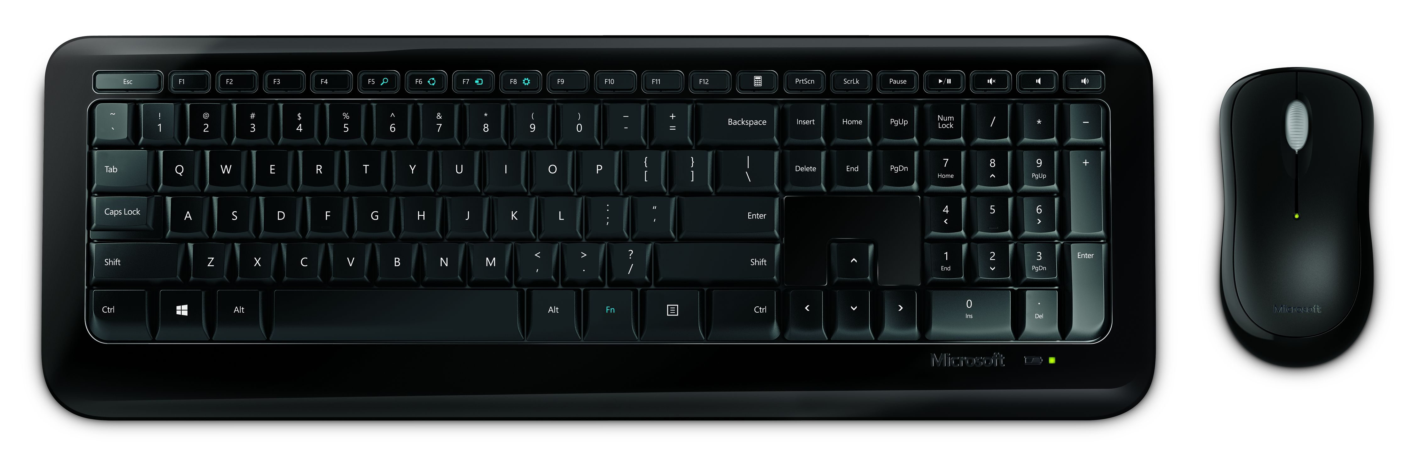 Microsoft Tastatur und Maus »Wireless Desktop 850 «