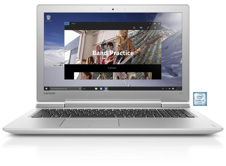"LENOVO Ideapad 700-15ISK Notebook »Intel Core i5, 39,6cm (15,6""), 500 GB SSHD, 8 GB« in weiß"