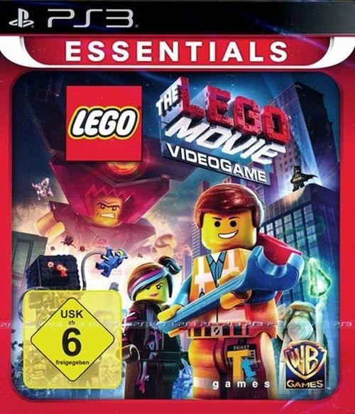 Warner Games Playstation 3 Spiel The Lego Movie Videogame