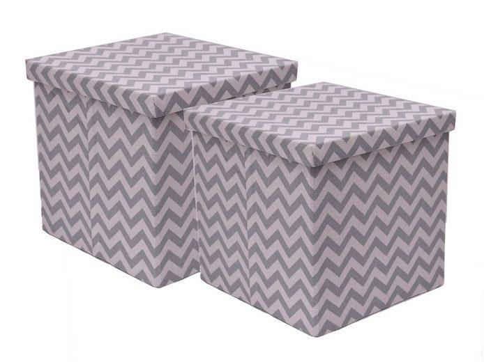 franz m ller flechtwaren aufbewahrungsboxen 2tlg quadratisch online kaufen otto. Black Bedroom Furniture Sets. Home Design Ideas