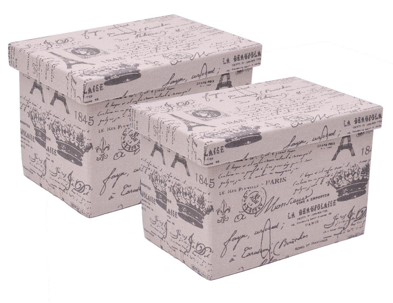 Franz Müller Flechtwaren Aufbewahrungsboxen (2tlg.), rechteckig