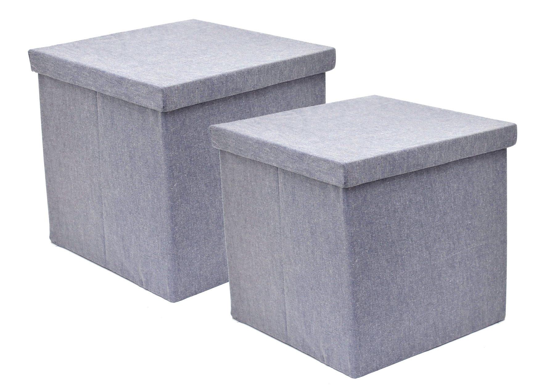 Franz Müller Flechtwaren Aufbewahrungsboxen (2tlg.), quadratisch