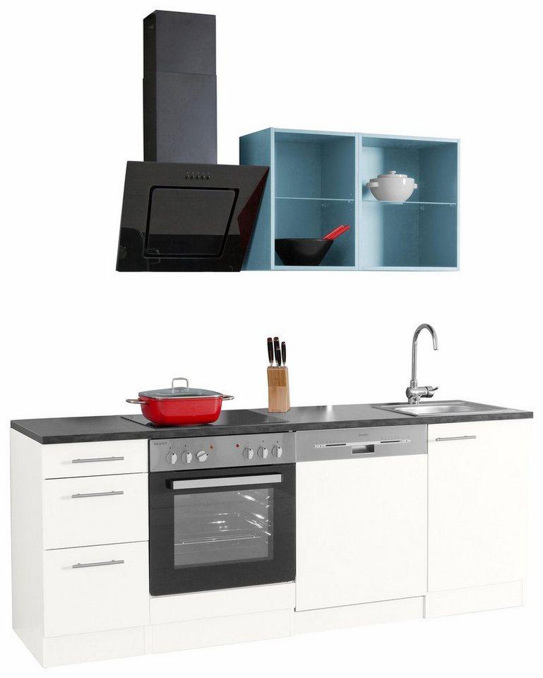 singlek che mit backofen. Black Bedroom Furniture Sets. Home Design Ideas