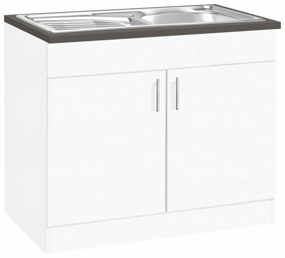 Held Möbel Spülenschrank »Mira« in weiß