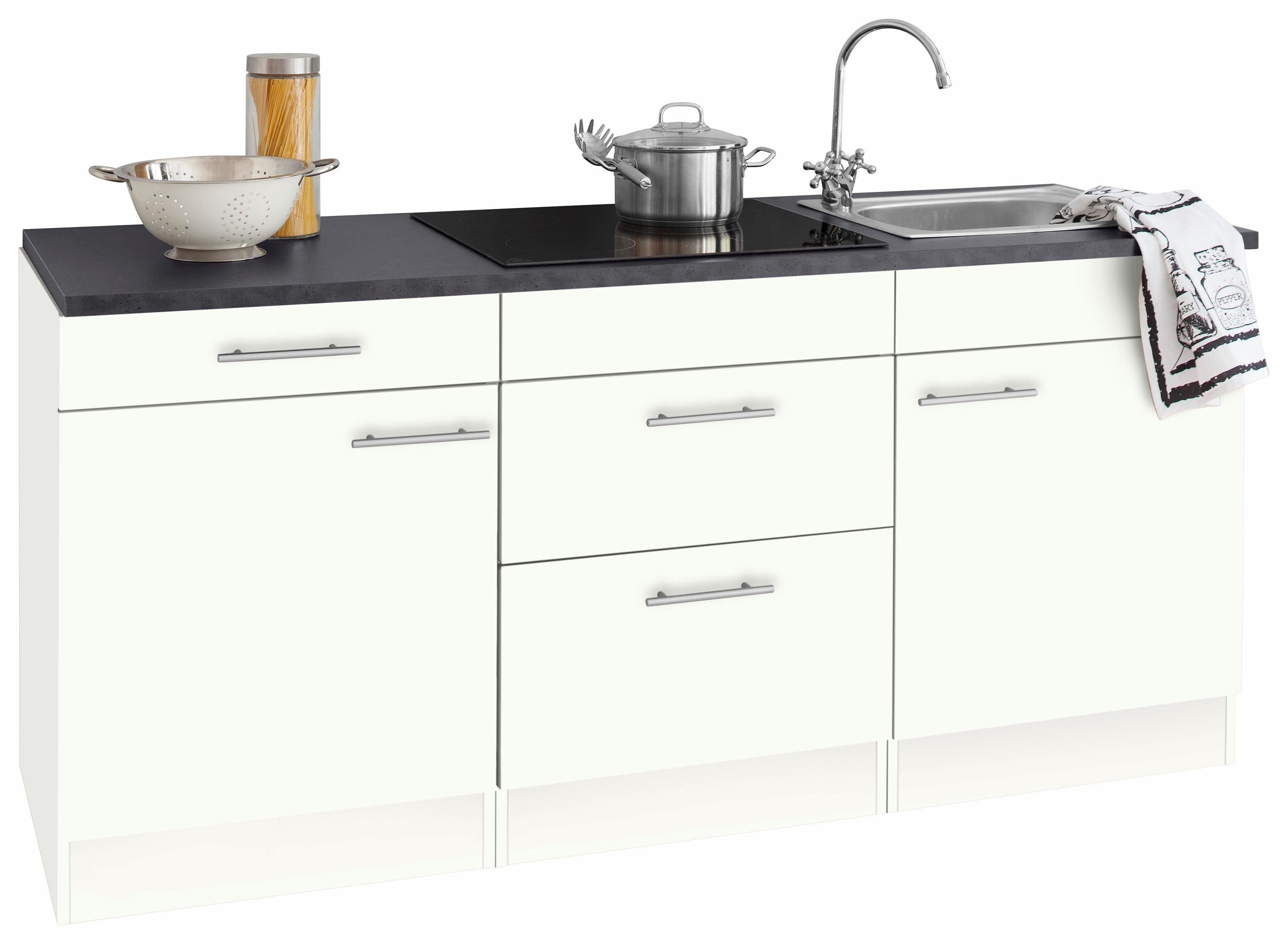 Miniküche Mit Kühlschrank Poco : Singleküche miniküchen online kaufen otto